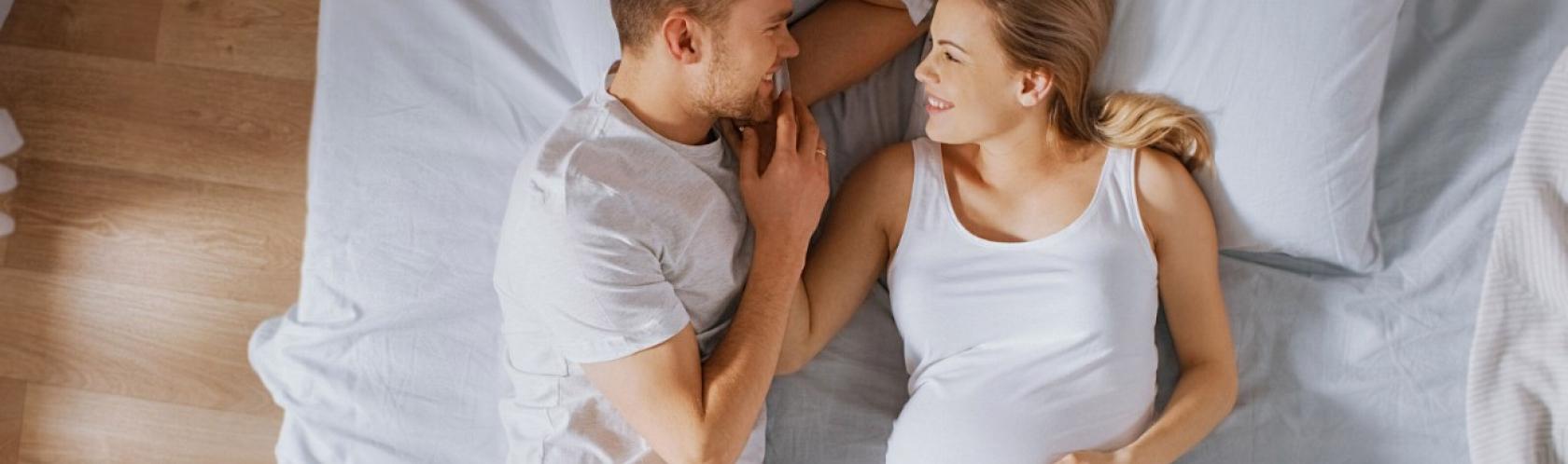 Versuchen, sie schwanger zu machen